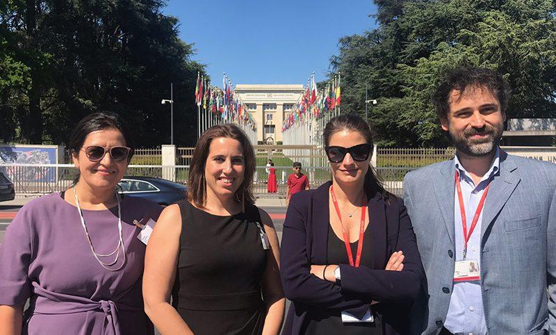 Productores chilenos exponen sobre propiedad intelectual en la ONU