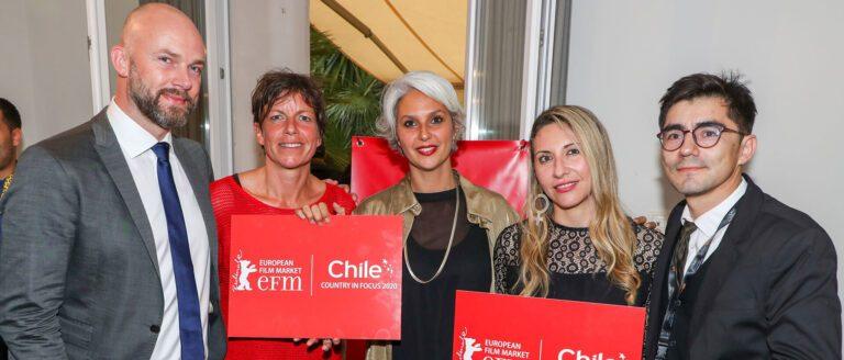 """Chile celebra en Cannes que será el próximo """"País en Foco"""" en el mercado audiovisual de la Berlinale 2020"""