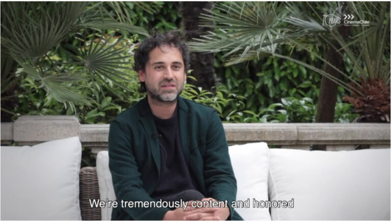 Giancarlo Nasi, productor del «Hombre del futuro», film chileno en Karlovy Vary 2019