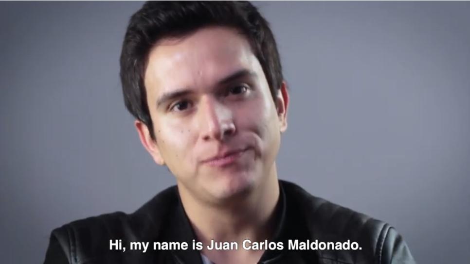 Juan Carlos Maldonado, protagonista de la cinta chilena «El Príncipe»
