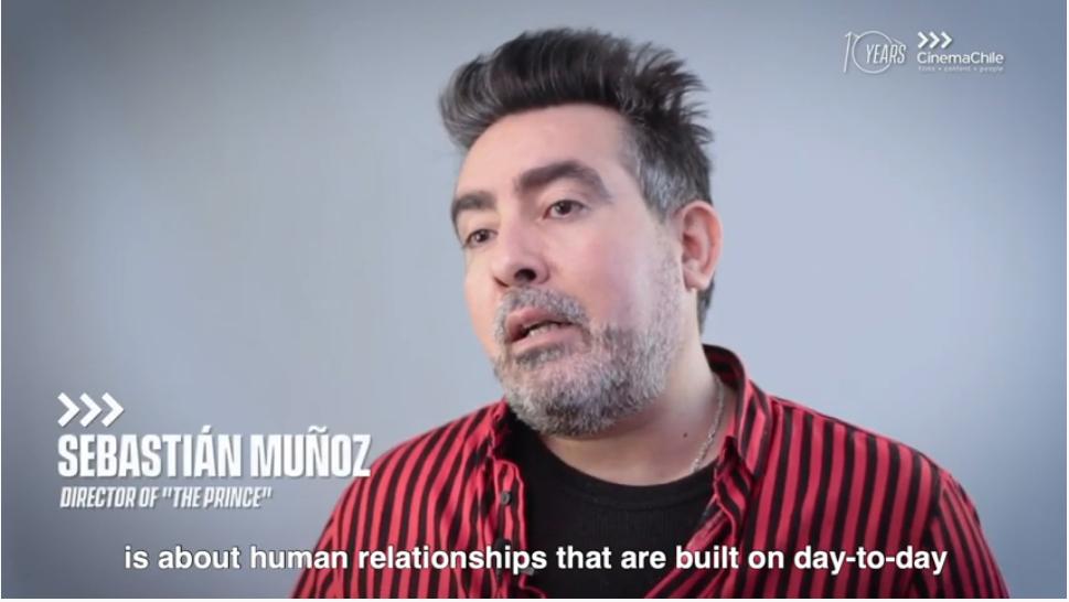Sebastián Muñoz, director de «El Príncipe», película en competencia en el Festival de Venecia