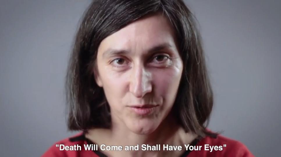 Julieta Figueroa, actriz de la cinta «Vendrá la muerte y tendrá tus ojos»