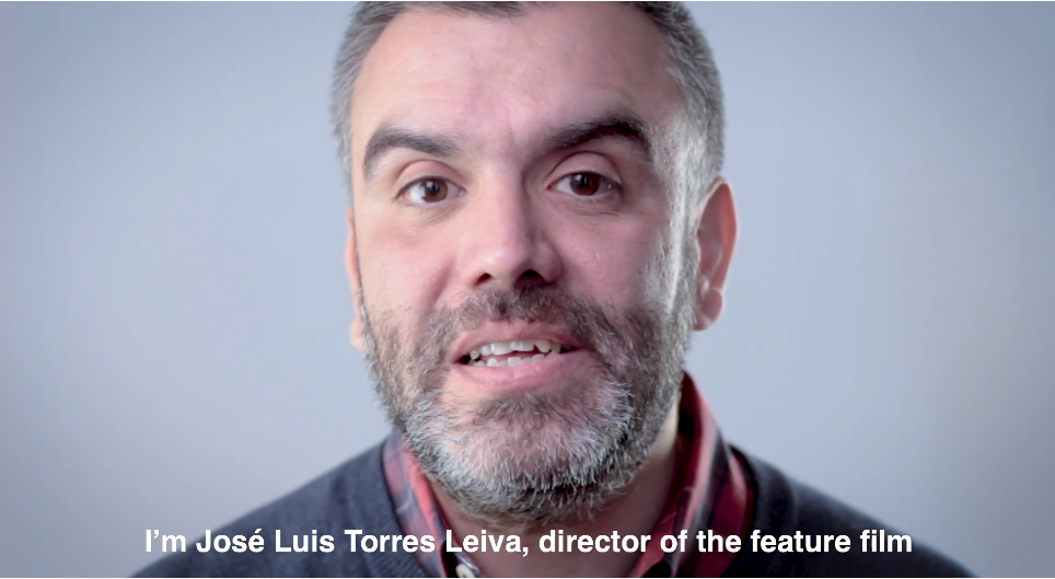 Jose Luis Torres Leiva, director de «Vendrá la muerte y tendrá tus ojos»