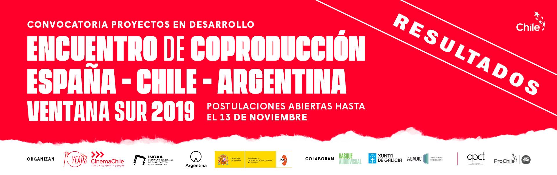 Cinco proyectos chilenos seleccionados para el Encuentro de Coproducción de España, Chile y Argentina en Ventana Sur 2019
