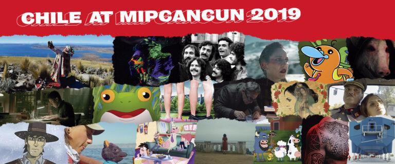 Experimentada delegación chilena participará en el mercado de TV MIP Cancun 2019