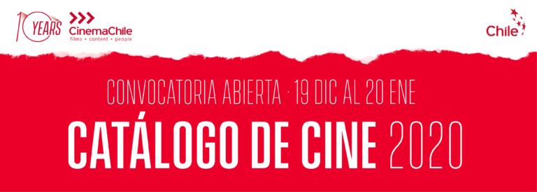 ABRIMOS LA CONVOCATORIA PARA EL CATÁLOGO INTERNACIONAL DE CINE 2020