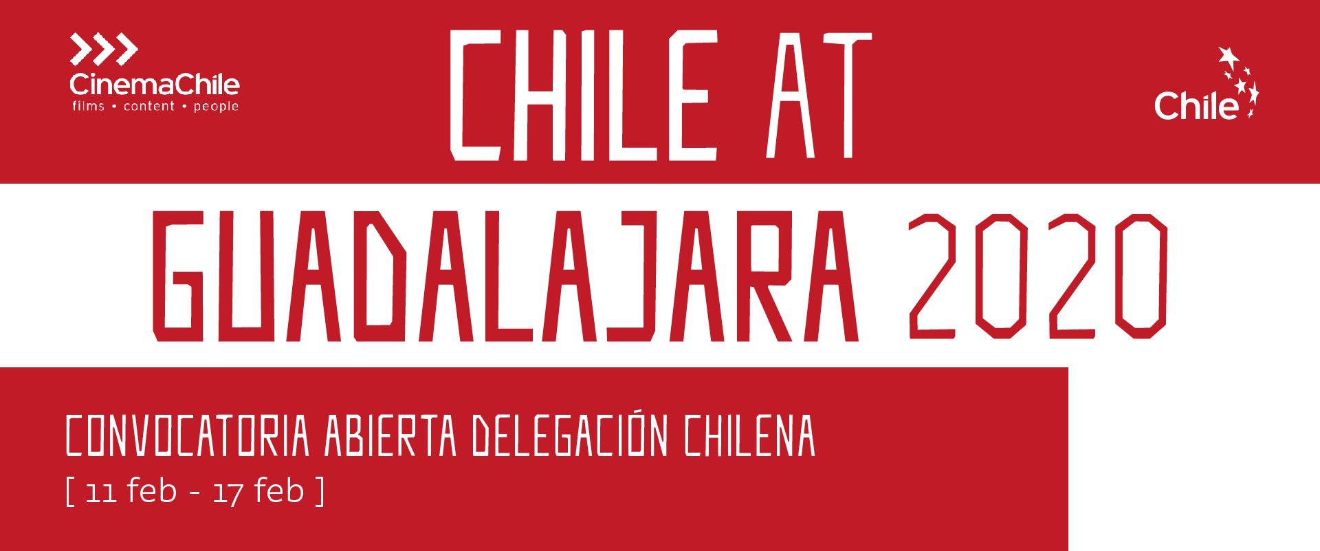 ¿Vas a asistir al Festival de Guadalajara? Avísanos y súmate a la delegación chilena