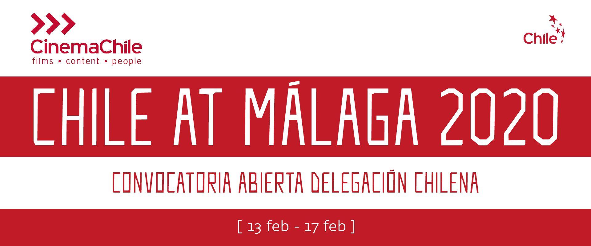 ¿Vas a asistir al Festival de Málaga? Avísanos y súmate a la delegación chilena