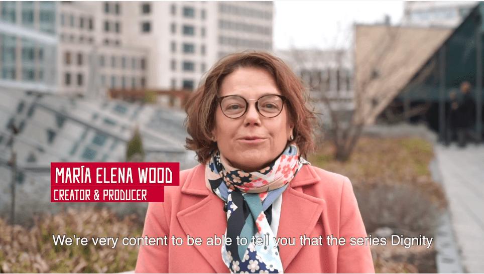 """(Español) Maria Elena Wood habla sobre """"Dignidad"""", serie seleccionada en Cannes Series"""