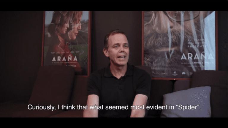 """(Español) Andrés Wood, director de """"Araña"""" acerca de la nominación chilena en los Premios Goya"""