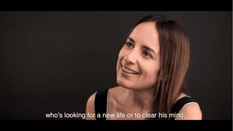 Maite Alberdi, directora de «El agente topo», cinta chilena seleccionada en Sundance 2020