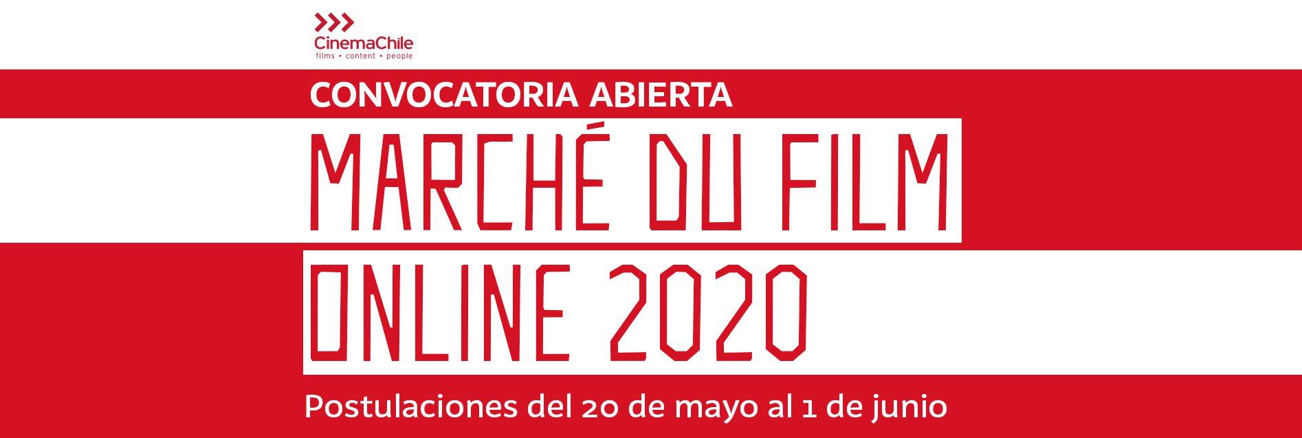 Convocatoria abierta: delegación chilena en Marché du Film online, Cannes 2020
